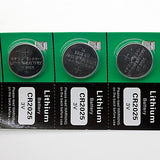 CR2025 3V High Capacity Lithium Button Cell Batteries (5-pack)
