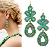 Fashion Elegant Women Bohemia Earring Jewelry Wholesale Fashion Jewelry