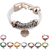 Fashion Vintage Rope Charm Bracelets For Woman Jewelry Leather Bracelets & Bangles