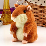 Lovely Talking Hamster Plush Toy Hot Cute Speak Talking Sound Record Hamster Toy Animal