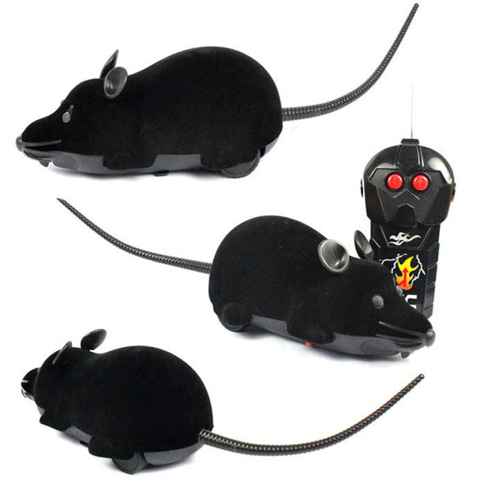 R/C Simulation Plush Mouse Mice With Remote Controller Kids Toy Gift