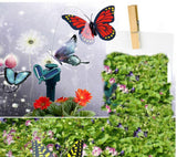 Solar Toys Solar powered Butterfly Diy Assembling Puzzle Model Toy Novelty & Gag Toys