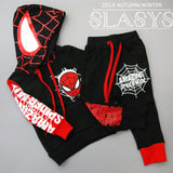 New Spring children's clothing spider man costume spiderman suit spider-man costume Children's Sets