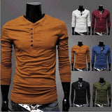 Hot Sale Men Tshirt Fashion T-shirts Summer Wear Long Sleeve