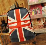 Olympic Games American US UK Flag Star-Spangled Banner Backpack Shool Bag Student bag
