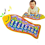Fashion Baby Piano Music Smart Toys Kids's Fish Animal Gift Mat Touch Kick Play Fun Toy