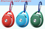 Wireless bluetooth card speakers portable sports speaker