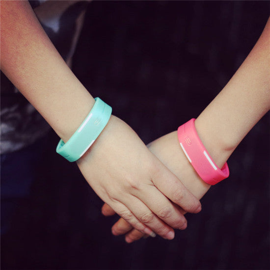 New Fashion Sport LED Watch Candy Color Silicone Rubber ...