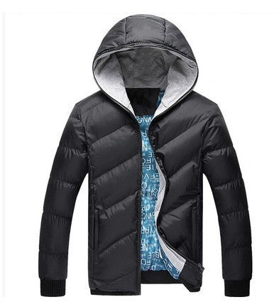 Hot Sale Men Winter Jacket Korean Style Slim Fit Fashion Warm Thick Men Coat men's clothing