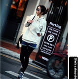 Autumn Hoodies Women Sport Suit Pullovers Hoody Swearshirt Fleece Warm Moleton Feminino Winter Coat