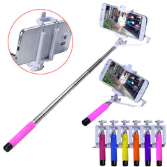 Handheld Extendable selfie stick for samsung For Apple monopod Mini Self-Pole Tripod Monopod Stick self selfie Monopad