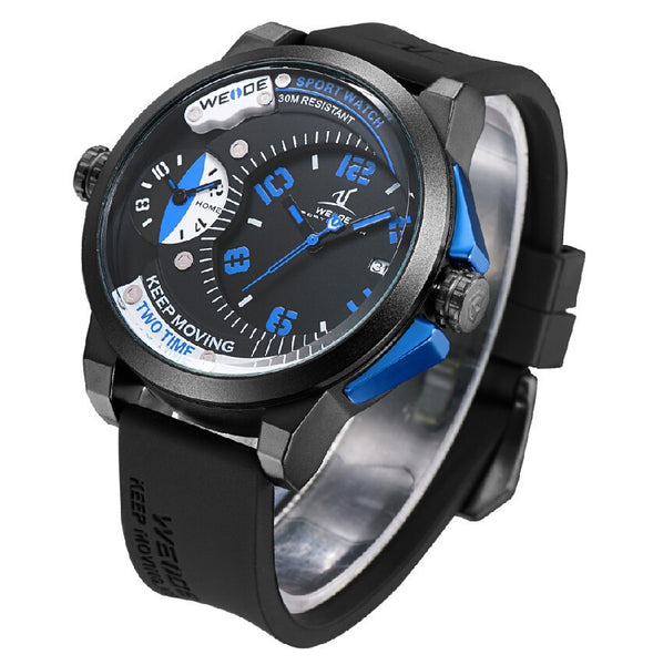 Weide Universe Mens Watch Two Time Zones Analog Buycoolprice