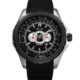 WEIDE Men Quartz Watch Luxury Analog Watch 3ATM Waterproof Military Watches with Calendar Dress Wrist watch
