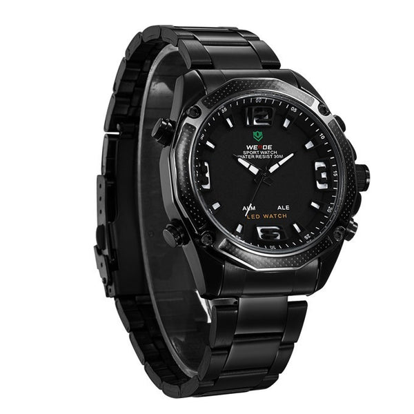 WEIDE Men Military Army Watch Analog LED Digital Buycoolprice