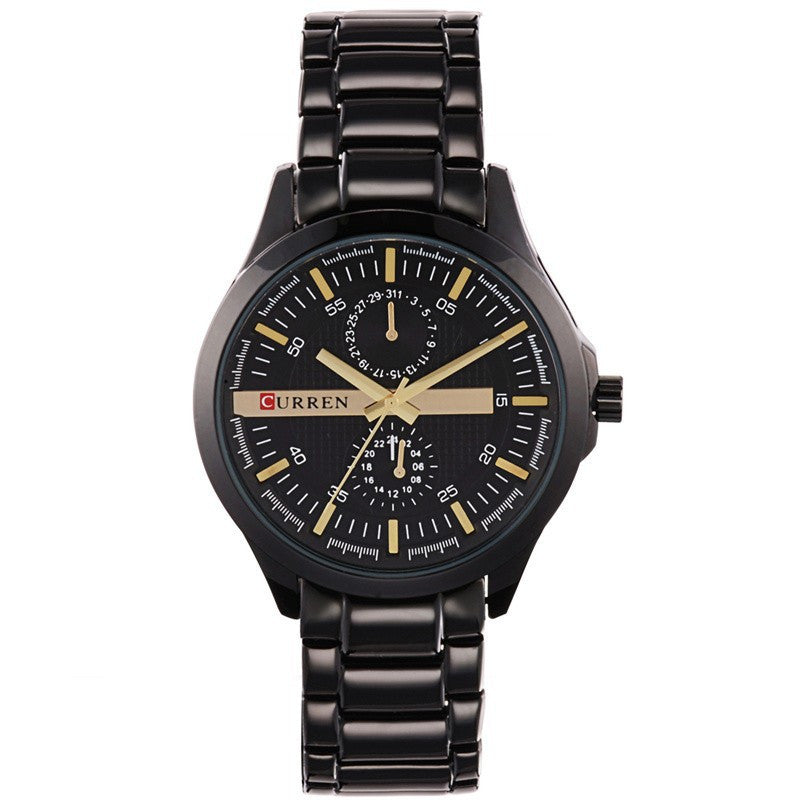 CURREN Men Full Steel Business Watch Men Luxury Brand Sport Watches Analog Display Men Quartz Watch Wristwatch