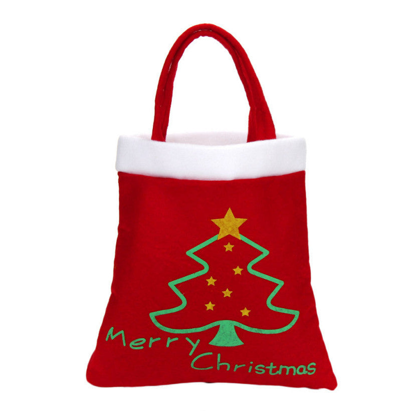 Creative Candy Bag Christmas Supplies Home Children Christmas Tree Gift Candy Bag Merry Christmas Decoration