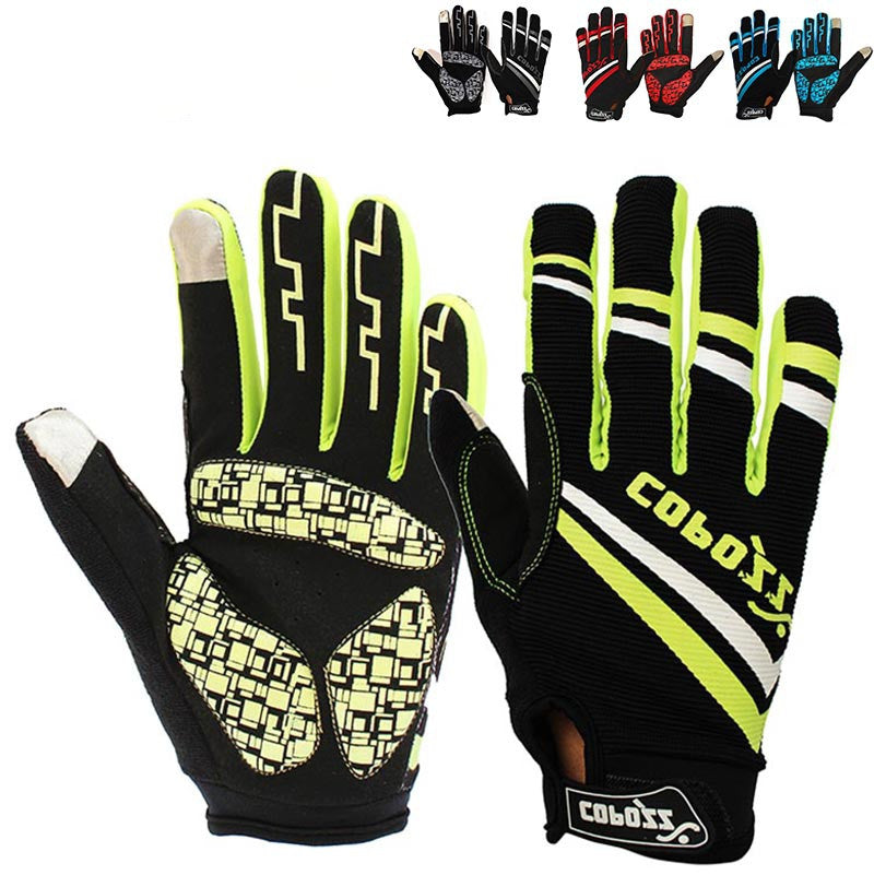 Brand New GEL Full Finger Men Cycling Gloves mtb bike gloves/bicycle ciclismo racing sport breathable thick shockproof