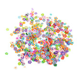 1000 Pieces/Bag Fimo Clay 3 Series Fruit Flowers Animals DIY 3D Nail Art Decorations Nails Art Decoration Sticker Design