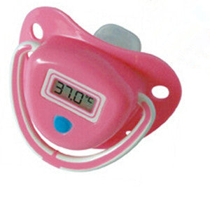 Infant Baby Digital Dummy Pacifier Thermometer Soother
