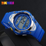 Children Watch Outdoor Sports Kids Boy Girls LED Digital Alarm Stopwatch Waterproof Wristwatch Children's Dress Watches
