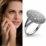 Fashion crystal jewelry the twilight breaking dawn Bella wedding rings for women high quality