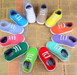 New arrival Size21~30 children shoes child sneakers baby boys sports shoes girls canvas shoes candy colors