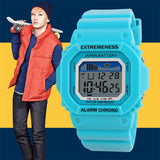 Skmei Unisex Watch Fashion Casual Watches Relogio Masculino Student Colorful For Men Women Water Resistant Alarm Wristwatches