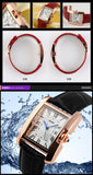 Watch Women Elegant Retro Watches Fashion Casual Brand Luxury Quartz Clock Female Leather Women's Wristwatches