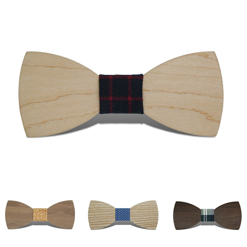 Gravata Borboleta Adult Wood Bow Ties Hardwood Handmade Personality Accessory Ties For Men Butterfly Gravata Wooden Bow tie