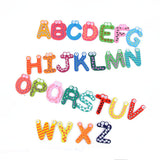 Kids Educational Toy Wood Letters Alphabet Learning Fridge Magnet A-Z-26pcs