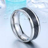 Trendy Jewelry For Men 316L Stainless Steel Fashion Man's Ring Titanium Steel Unique High Quality Wedding Band
