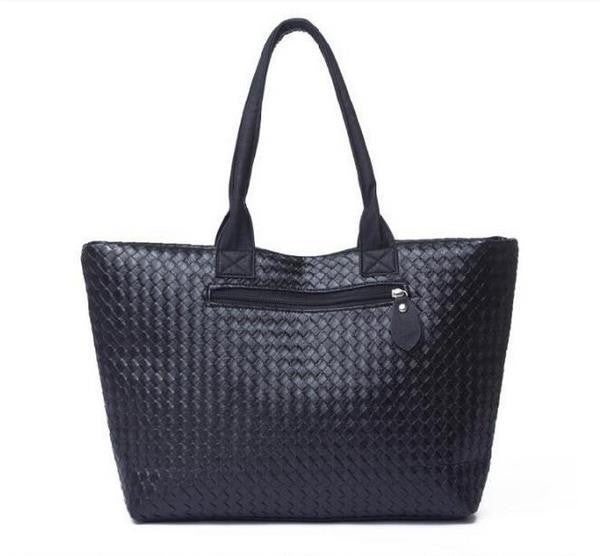 Women PU Leather Handbag,Tote Shoulder Bags, large capacity PU weave bags ,fashion design