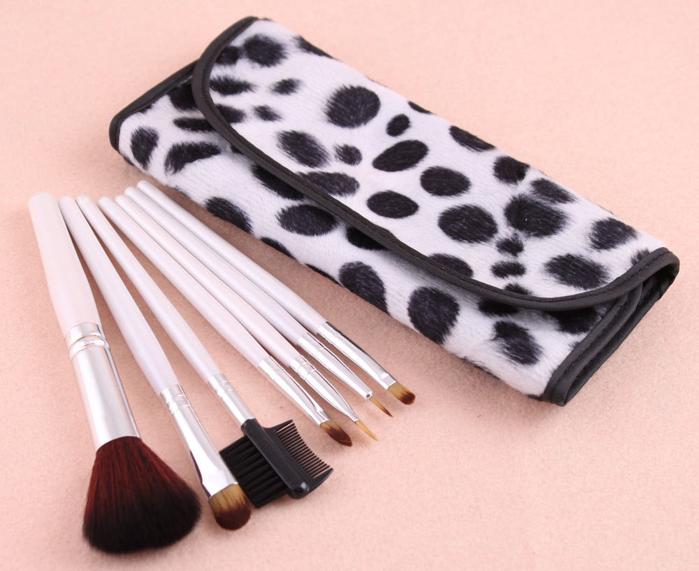 7 PCS Professional Makeup Brush Facial Care Facial Beauty Cosmetic Brushes Set With Case