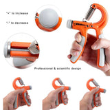 A Type Hand Grip Gripper Strength Training Forearm Muscle Exerciser Adjustable Hand-muscle Wrist Developer