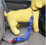 Adjustable Dog Cat Pet Car Safety Seat Belt Red Blue Black Army Green