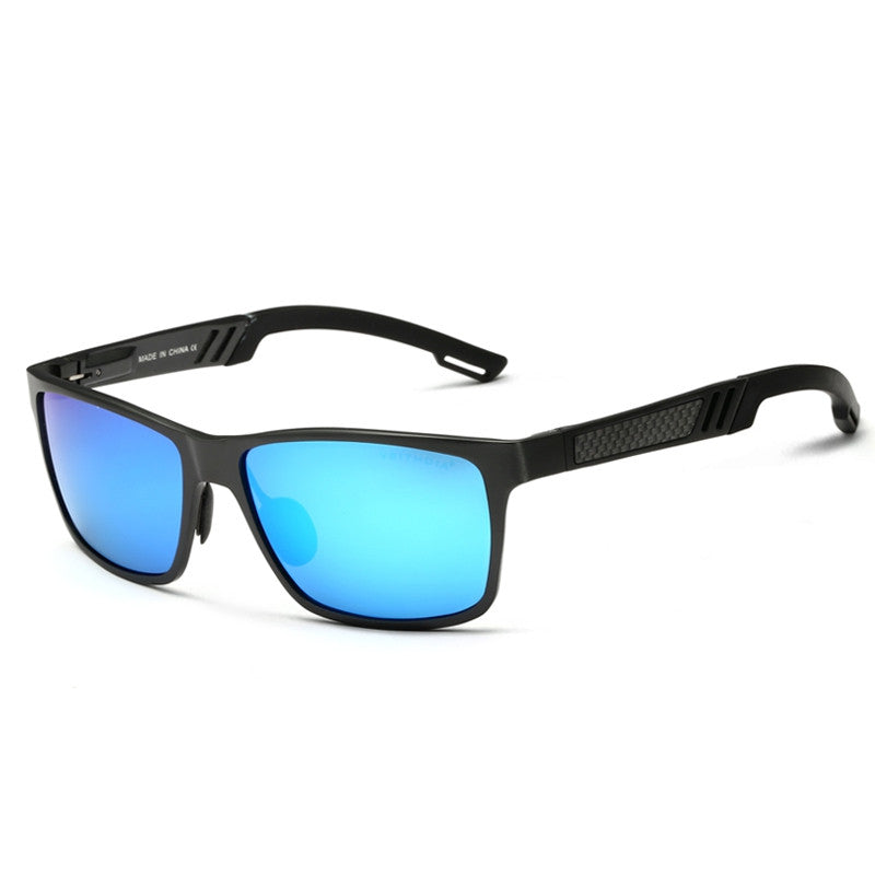 Aluminum Polarized Mens Sunglasses Mirror Sun Glasses Driving Outdoor Glasses Square Goggle Eyewear Accessories For Men