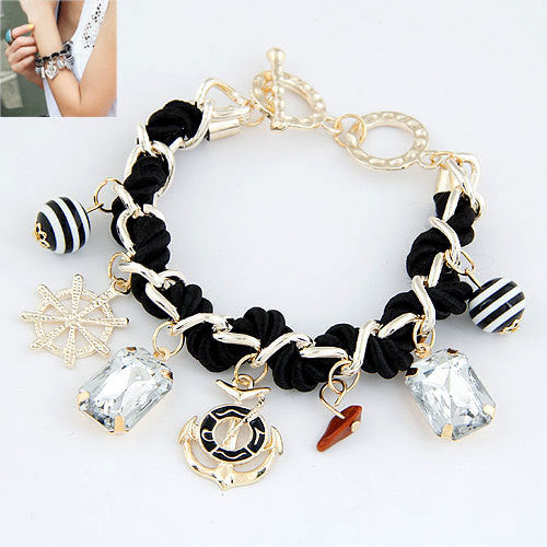 Anchor Bracelets for Women Charm Bracelets & Bangles Men Jewelry Bijoux Pulseras Mujer Pulseiras Anchor Fashion Accessories