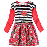 Baby Girl Princess Dress Nova Kids Girl Floral Dress Lovely Tutu for Baby Girl