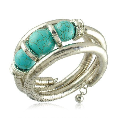 Beads Bracelet New Arrival Turquoise Beads Bracelet Vintage Jewelry