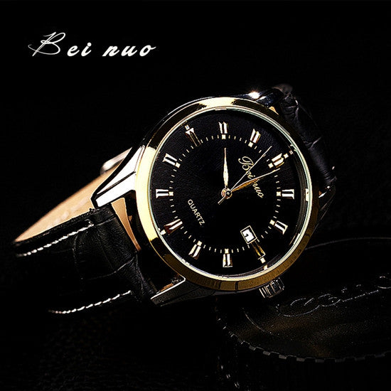 Bei Nuo Top Brand New Arrival Quartz Men Sports Wristwatch Watches Men Business Classic Electronics Gift Watch