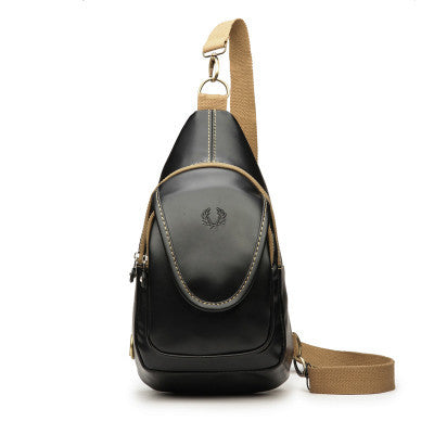Vintage Brand Design PU Leather Women and Men's Backpacks Vintage Normal Camping Backpacks Students School Travel Bag