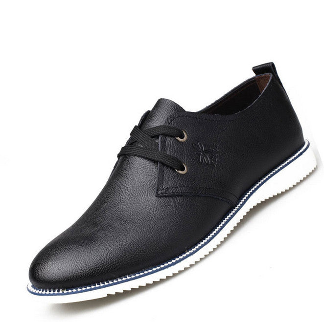 New Fashion men oxfords summer&winter Leather Shoes Men's Flats Shoes Low Men Sneakers for men