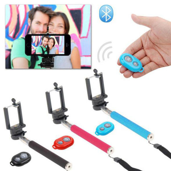 Bluetooth tripod selfie stick Rotary Extendable Handheld Camera Tripod Mobile Phone Monopod+ Wireless Bluetooth Remote Control