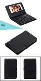 Bluetooth Keyboard Case for iPhone 6 UltraThin Wireless Keyboard Leather Case for iPhone 6s Pu Leather Flip Case for Samsung S6