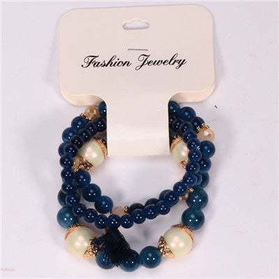Bracelets For Women Special Offer Top Fashion Summer Style Pulseras High Quality Beads Drawing Process Bracelet Fashion
