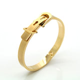 Brand Bangle Unisex Women/Men Jewelry Wholesale 4 Colors Real Platinum/18K Gold Plated Round Trendy Belt Bracelets Bangles