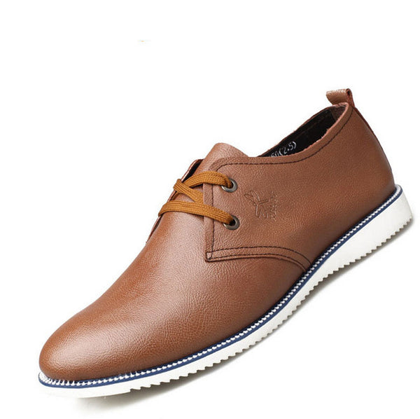 New Fashion Men Oxfords Summer Leather Shoes Men S Flats