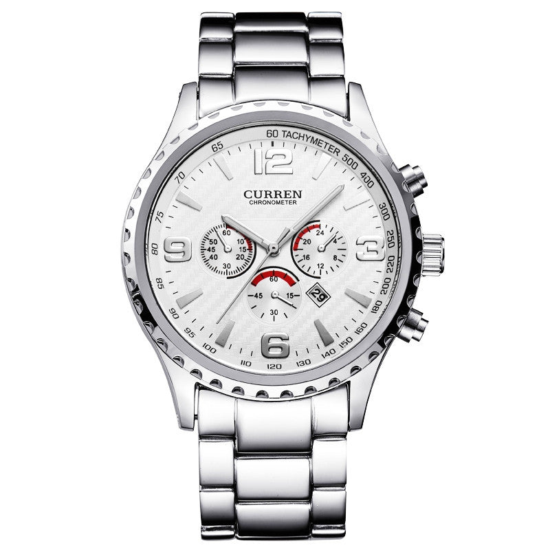 CURREN Brand Top Luxury Full Steel Men Watches Men Business Quartz Watch Auto Date Waterproof Relogio Masculino Relojes Hombre