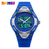 Children Watch 2 Time Zone Digital Quartz Waterproof Kids boys girls Watches Casual Sports LED Dress Wristwatches For Children