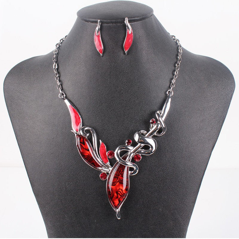 Classic Jewelry Sets Bridal Jewelry High Quality Woman't Necklace Earring Sets Top Elegant New Arrival Christmas Gifts